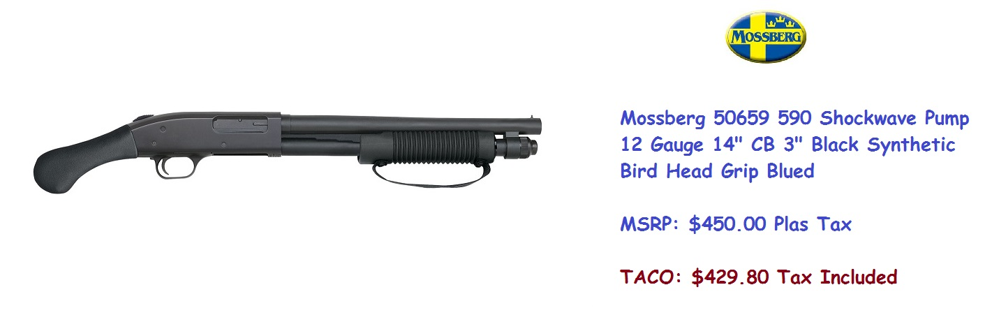 Mossberg 50659 590 Shockwave Pump 12 gauge[6255]